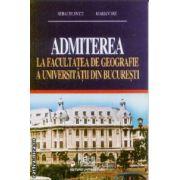 Admiterea la facultatea de geografie a Universitatiii din Bucuresti