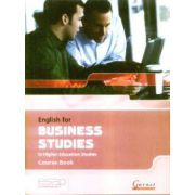 English for Business studies in Higher Education studies Course Book + 2 CDs