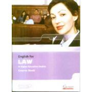 English for Law in Higher Education Studies Course Book + 2 CDs
