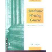 Academic Writing Course Study Skills in English(editura Longman, autor:R. R. Jordan isbn:0-582-40019-8)