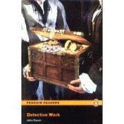 Detective Work Level 4(editura Longman, autor:John Escott isbn:978-4-4058-8211-8)