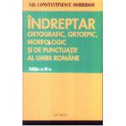 Indreptar ortografic ortoepic morfologic si de punctuatie al limbii romane