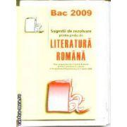 Sugestii de rezolvare pentru proba de Literatura Romana