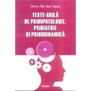 Teste grila de psihopatologie psihiatrie si psihodinamica
