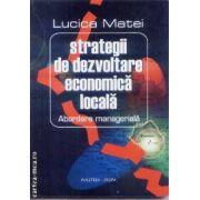 Strategii de dezvoltare economica locala