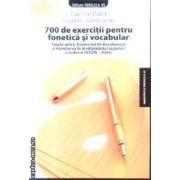 700 de exercitii pentru fonetica si vocabular