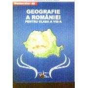 Memorator de Geografie a Romaniei clasa 8-a