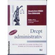 Drept administrativ Sinteze teoretice si exercitii practice pentru activitatea de seminar