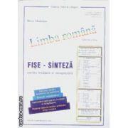 Limba romana Fise -Sinteza pentru invatare si recapitulare