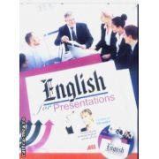 English for Presentations + CD audio