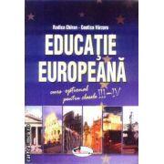 Educatie Europeana curs optional pt clasele 3-4