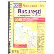 Atlasul orasului Bucuresti si imprejurimile