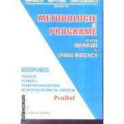 Metodologie si programe pentru definitivat si gradul didactic 2