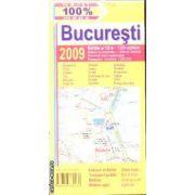 Harta rutiera Bucuresti