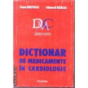 Dictionar de medicamente in Cardiologie