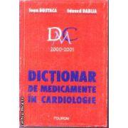 Dictionar de medicamente in Cardiologie