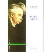Grieg Piese lirice