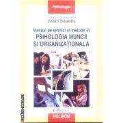 Manul de tehnici si metode in Psihologia muncii si Organizationala
