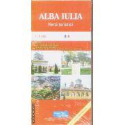Alba Iulia harta turistica