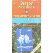 Brasov  Planul orasului / city plan / Poiana brasov / Predeal