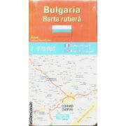 Bulgaria harta rutiera / road map