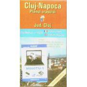 Cluj-Napoca planul orasului / city plan