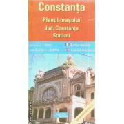 Constanta planul orasului / city plan / statiuni