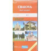 Craiova harta turistica