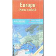Europa harta rutiera / road map