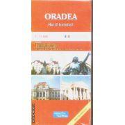 Oradea harta turistica