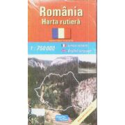 Romania harta rutiera / road map