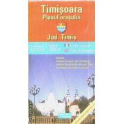 Timisoara planul orasului / city plan / Jud. Timis