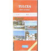 Tulcea harta turistica