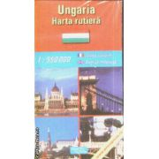Ungaria harta rutiera / road map