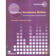Business Vocabulary Builder Intermediate to Upper Intermediate CD
