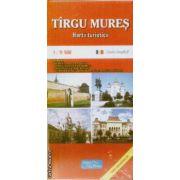 Tirgu Mures harta turistica