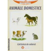 Animale domestice carte de colorat