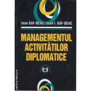 Managementul activitatilor diplomatice