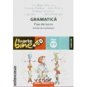 Gramatica fise de lucru clasa a VII a