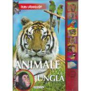 Animale din Jungla cu butoane interactive