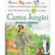 Cartea Junglei Povesti cu abtibilduri