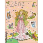 Cartea mea stralucitoare cu Zane cu abtibilduri (portocalie)