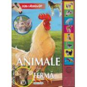 Animale din Ferma cu butoane interactive