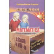 Matematica Exercitii si probleme  clasa 7 a