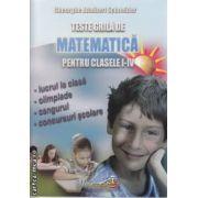 Teste grila de Matematica clasele 1-4