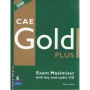 CAE Gold Plus Exam Maximiser with key and audio CD(editura Longman, autor: Elaine Boyd isbn: 978-1-4058-7681-0)