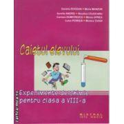 Experimente de chimie pentru clasa a 8 a caietul elevului