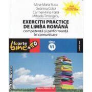 Exercitii practice de limba romana clasa a 6 a