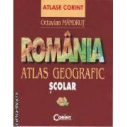 ROMANIA - Atlas geografic scolar ( editura : Corint , autor : Octavian Mandrut ISBN 978-973-135-625-9 )