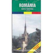 Romania Harta turistica